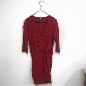 Cotton On red bodycon minidress.